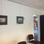 Impressie inrichten expositie
