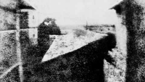 De eerste blijvende foto ooit gemaakt